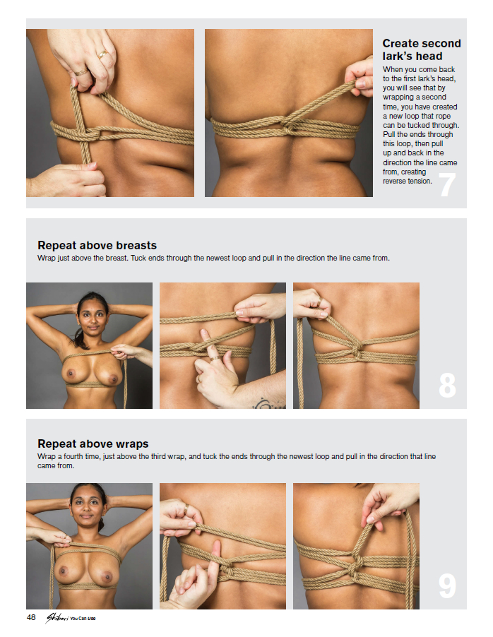 Erotic knot tying